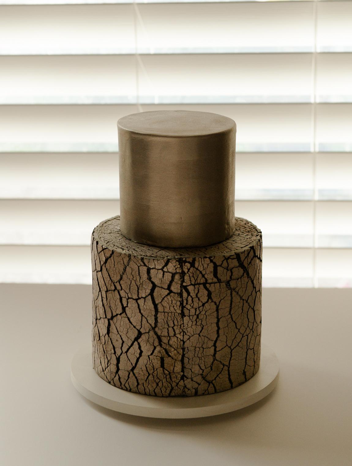 backlit cake
