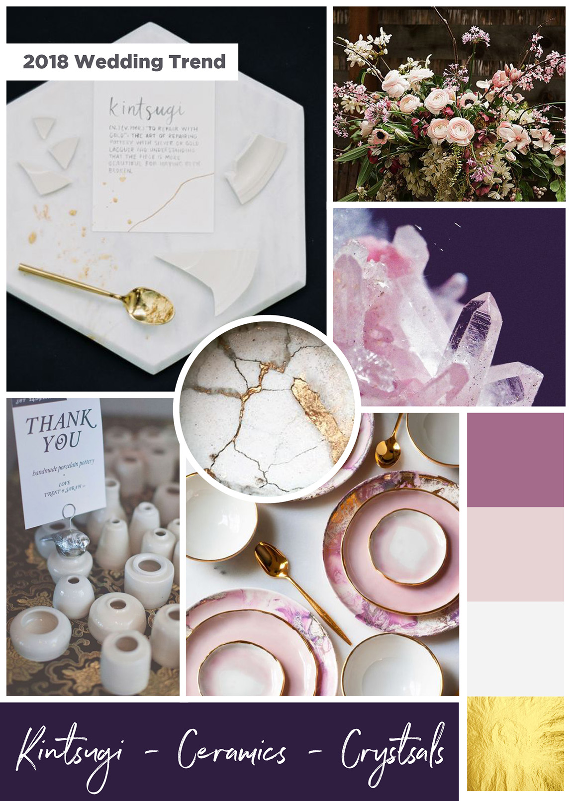 crystals mood board