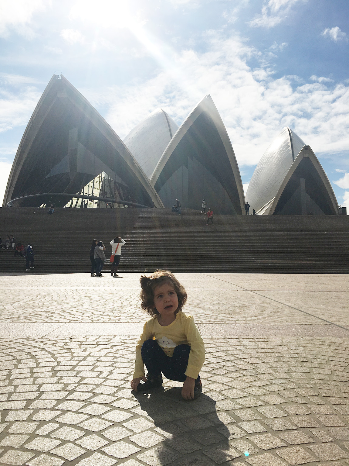 traveling with kids Australia